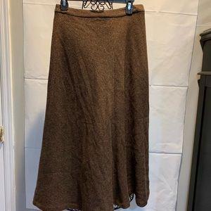 Ralph Lauren wool blend skirt